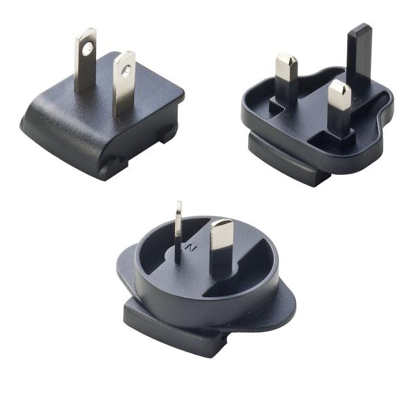 AC-Stecker Set für Sunny Serie SYS 1561/1460 (US/UK/AU)