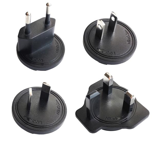 AC-Stecker Set für Sunny Serie SYS 1121 (EU/US/UK/AU)