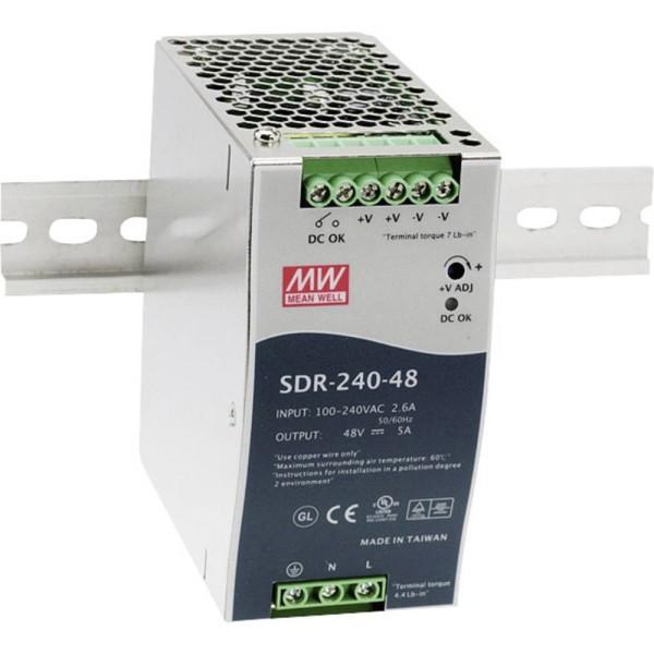 Schaltnetzteil Mean Well SDR-240